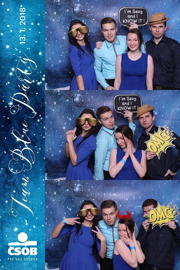 team blue party 1